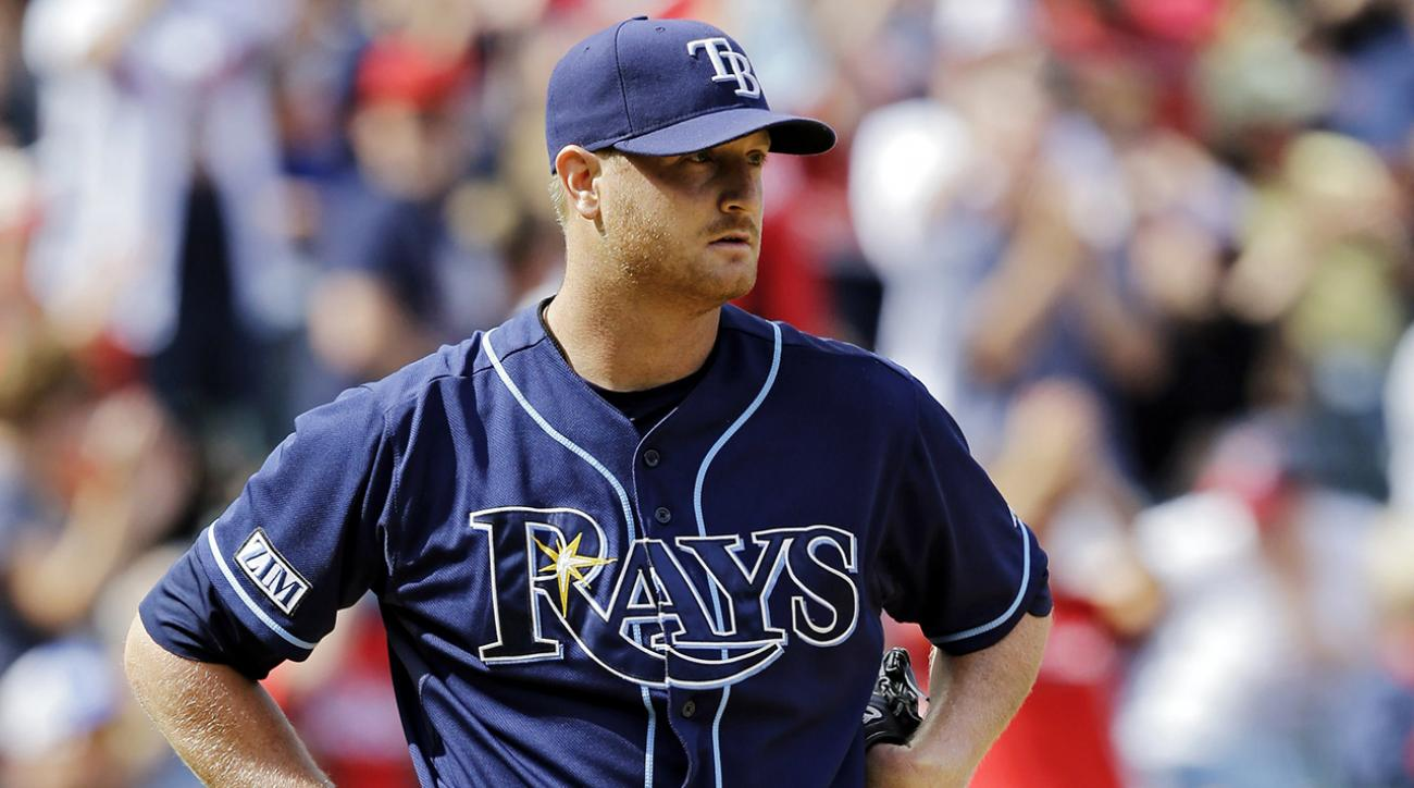 Rays place four starting pitchers on disabled list
