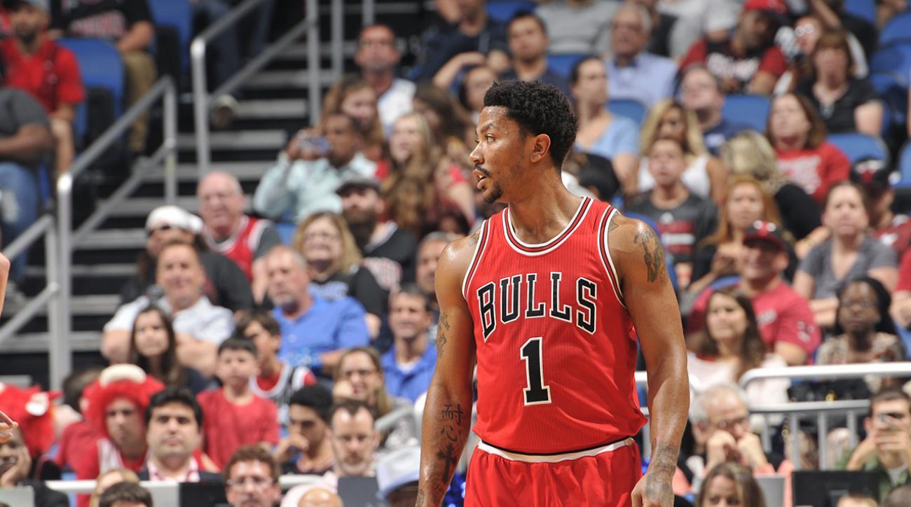 Michael Jordan burns Kendall Gill on dunk