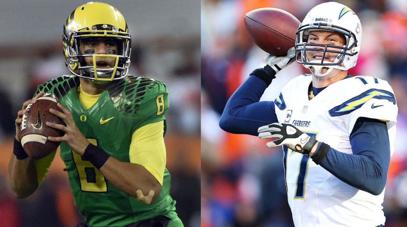 Phillip Rivers for Marcus Mariota trade at NFL Draft