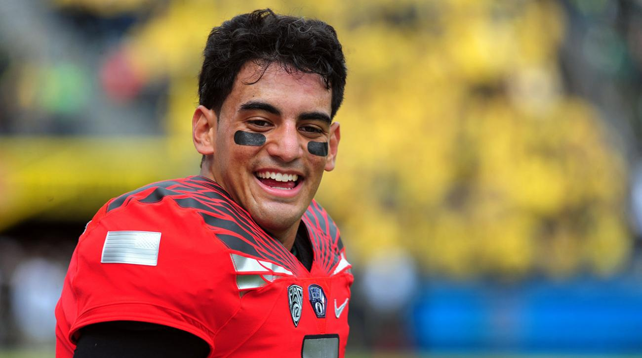Oregon makes video thanking Marcus Mariota