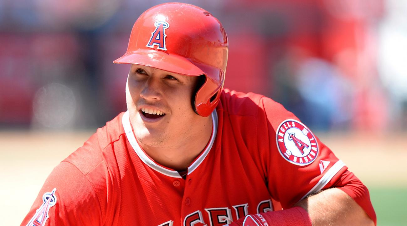 albert pujols, mike trout, los angeles angels, mlb