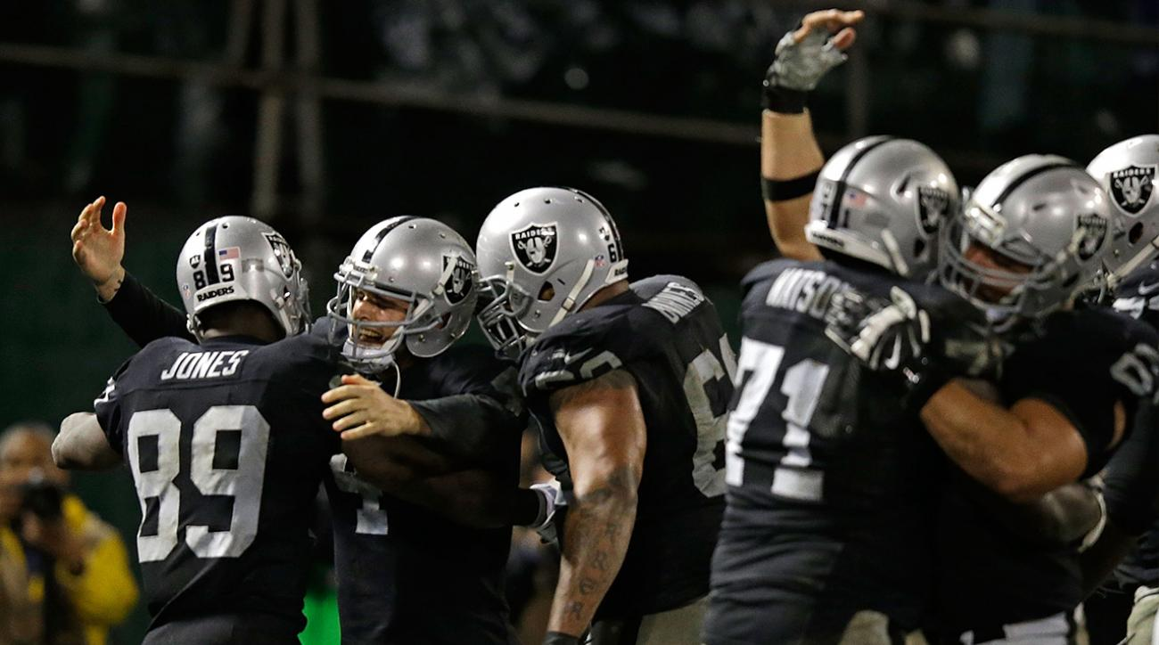 NFL team under pressure, Oakland Raiders, New Orleans Saints
