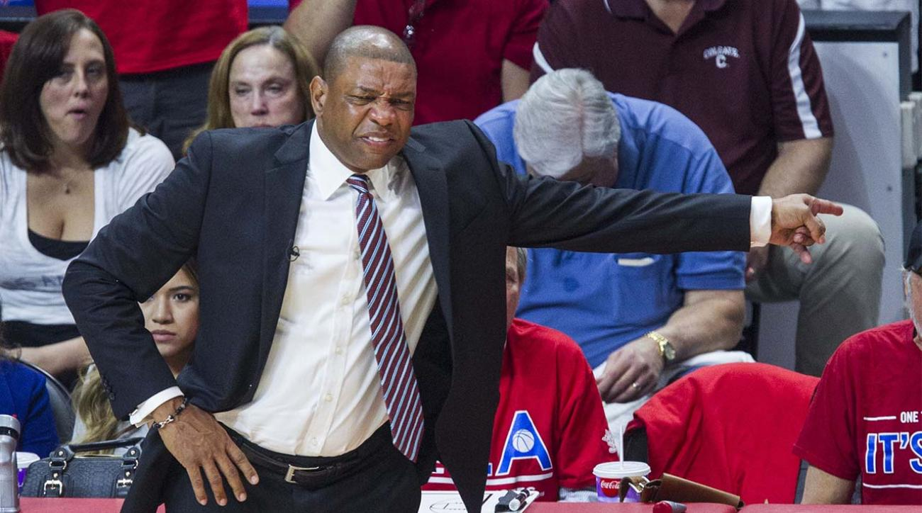 Clippers' Doc Rivers critical of refs in Game 7 vs. Spurs