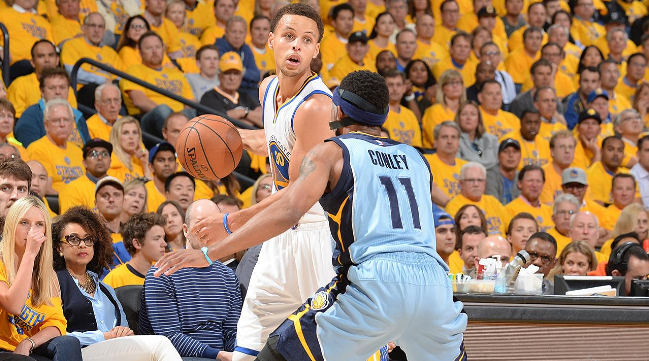 SI, si now, Can Mike Conley continue to expose holes in Warriors' offense, golden state warriors, Memphis Grizzlies, Stephen Curry, Clay Thompson