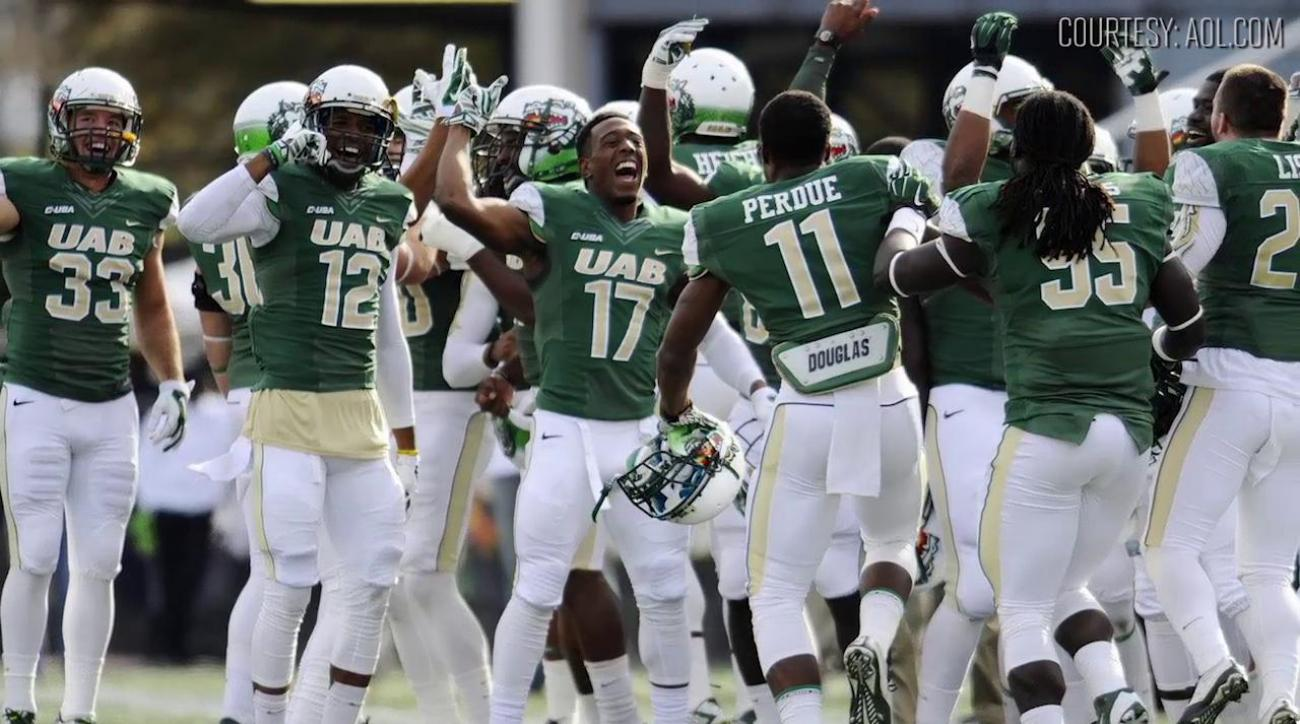 $6 million pledged to help reinstate University of Alabama at Birmingham football- IMAGE