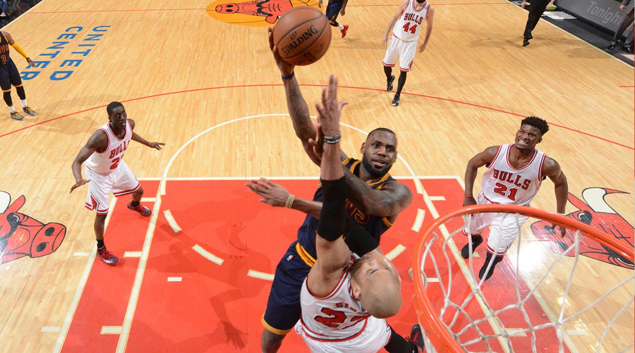 SI, si now, Is LeBron James running the Cavaliers good for the team's playoff chances, eastern conference semifinals, Cavaliers coach David Blatt, NBA star Le Bron James, Chicago Bulls