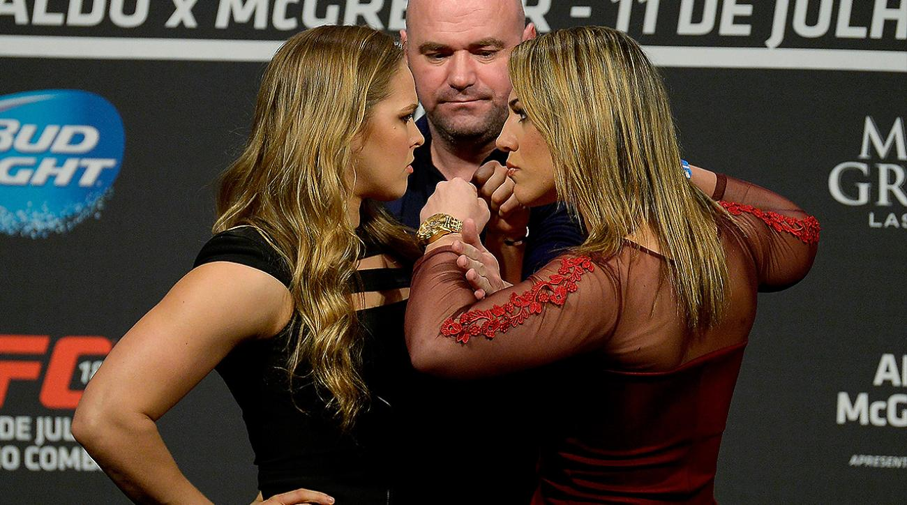 SI, si now, Ronda Rousey's next fight will be a come to Jesus Meeting, Ronda Rousey vs. Bethe Correia, UFC fighter Ronda Rousey