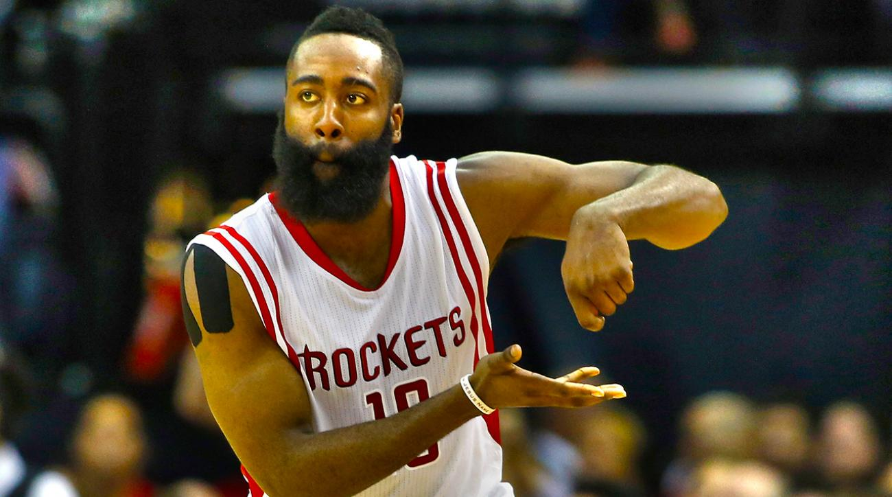 james harden houston rockets l.a. clippers
