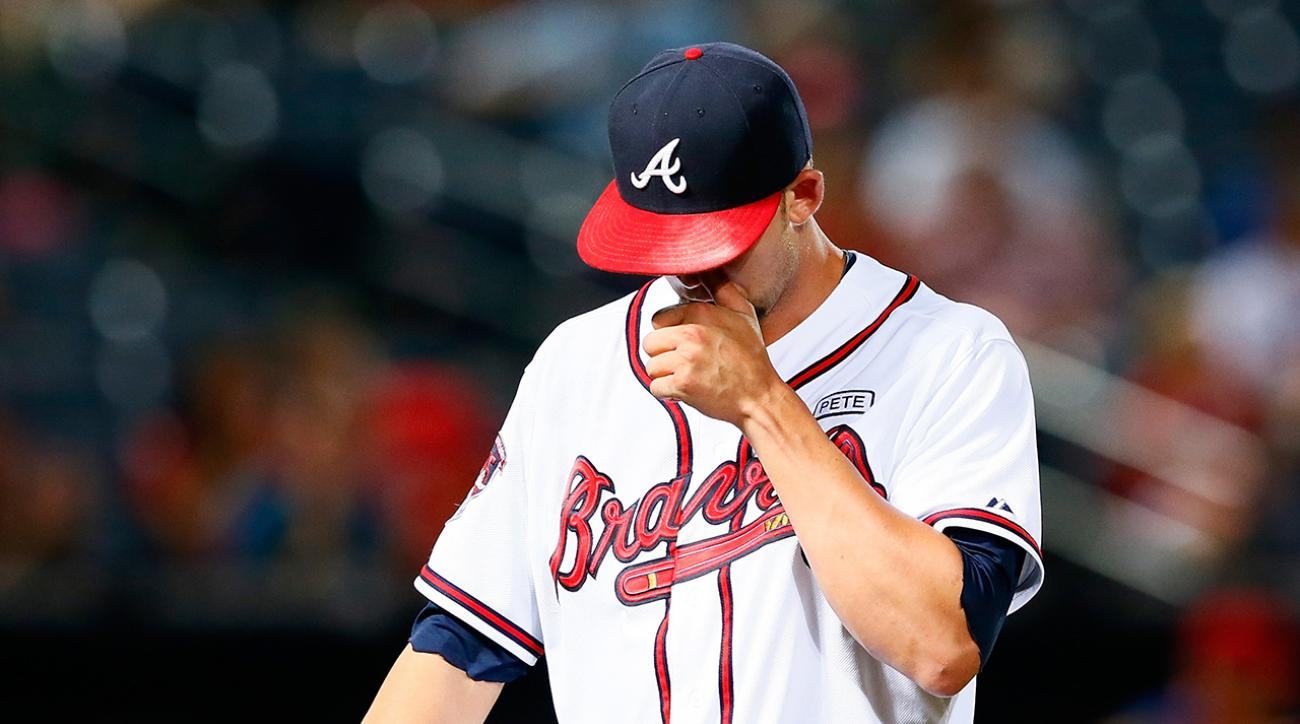 atlanta braves mike minor shoulder surgery