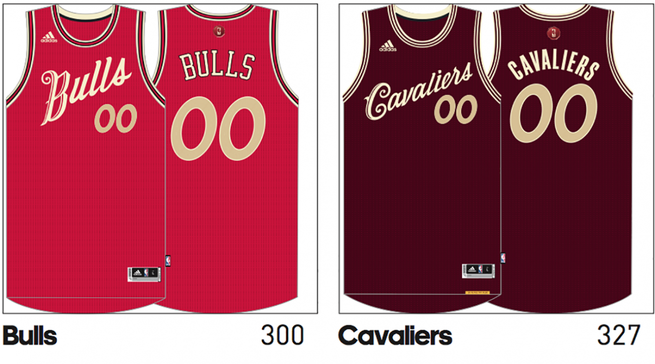 NBA Christmas Day jerseys leaked for all 27 teams   SI.com