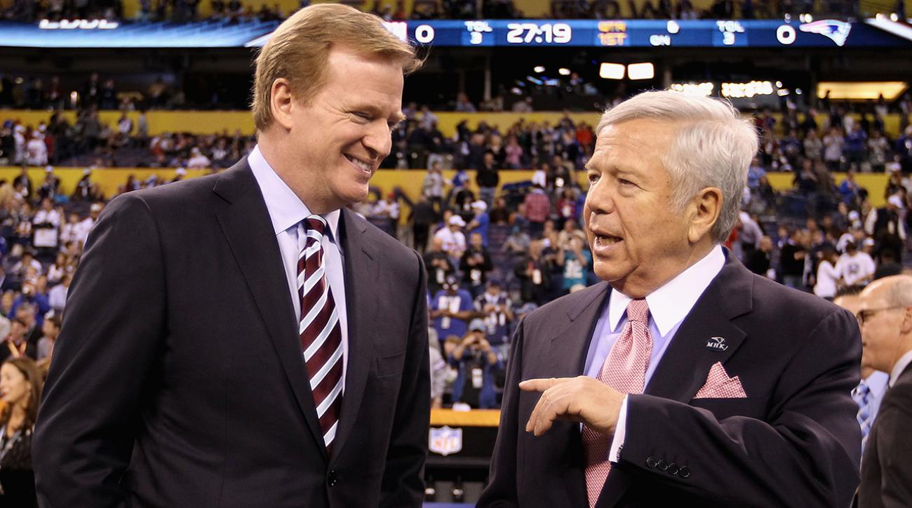 Report: NFL asked Patriots to suspend personnel involved in Deflategate