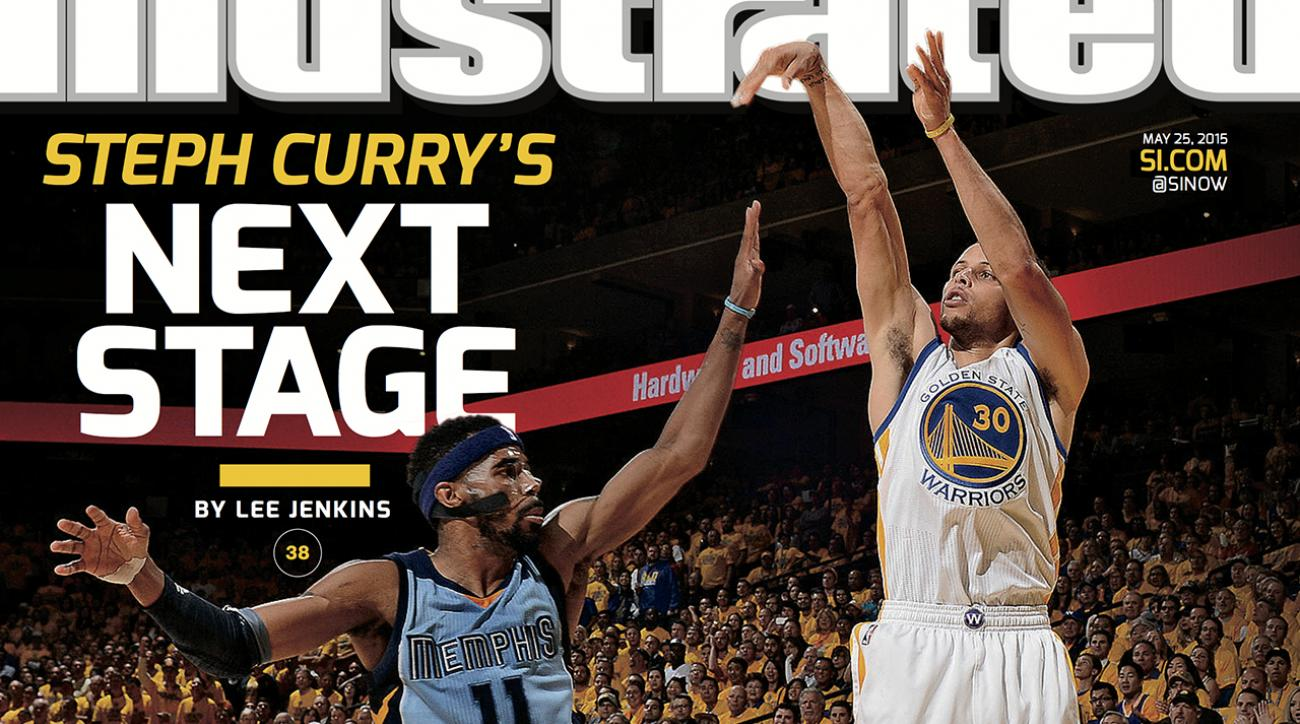 Steph Curry featured on this week's Sports Illustrated cover