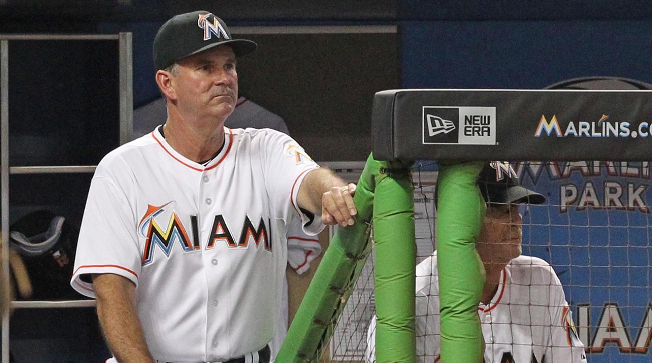 Miami Marlins manager Dan Jennings