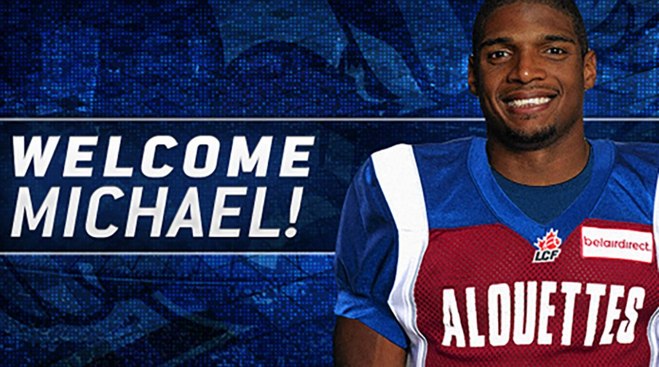 Michael Sam signs with CFL's Montreal Alouettes
