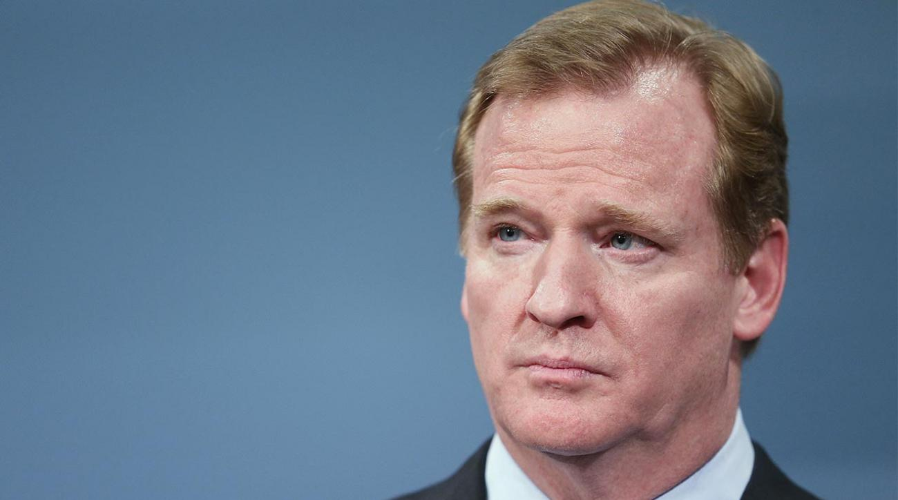 Report: NFL denies players' association request for Goodell replacement in Brady appeal