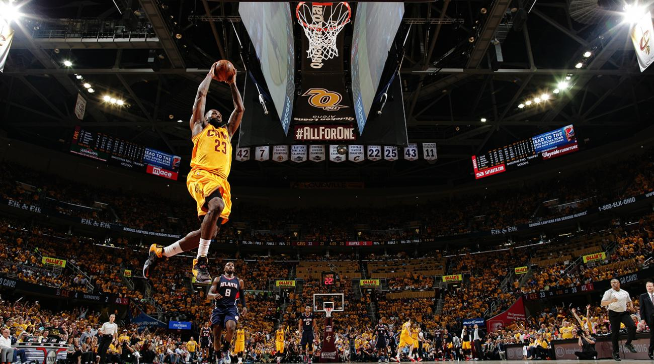 Cavaliers' LeBron James puts together 12th career playoff triple double