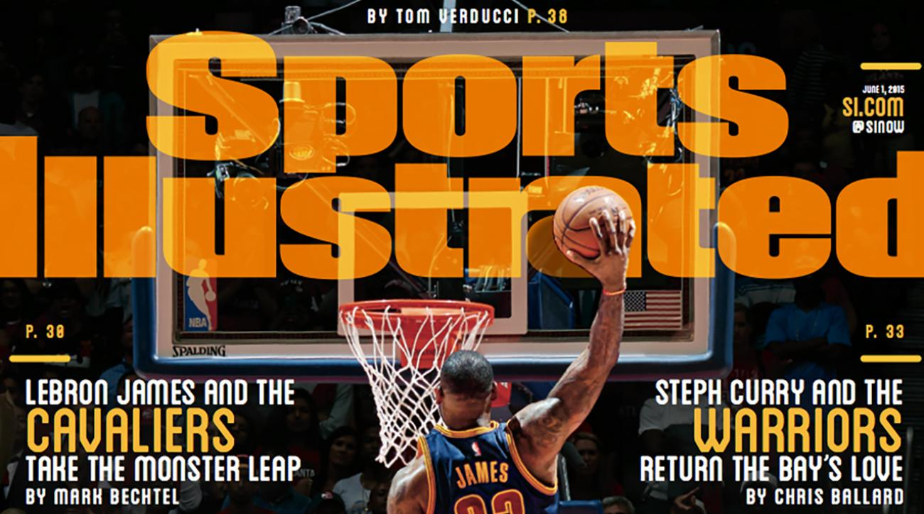 LeBron James featured on this week's Sports Illustrated cover