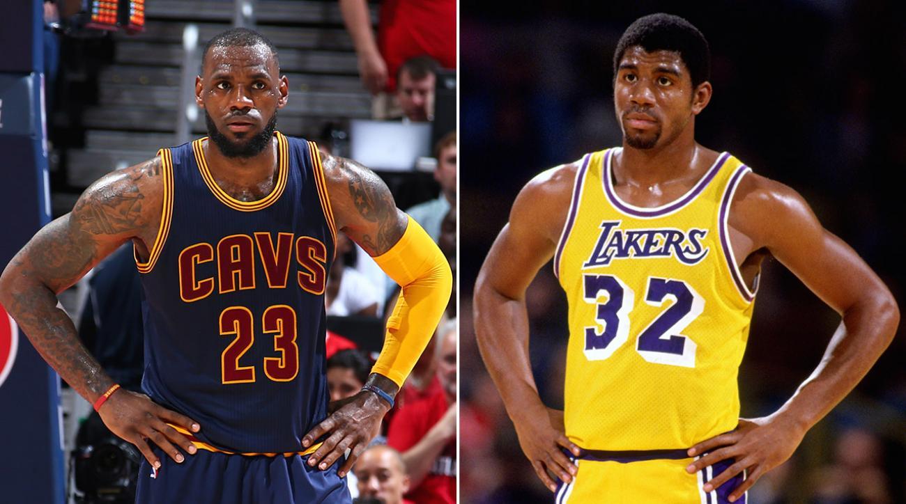 LeBron James The next Michael Jordan or Magic Johnson
