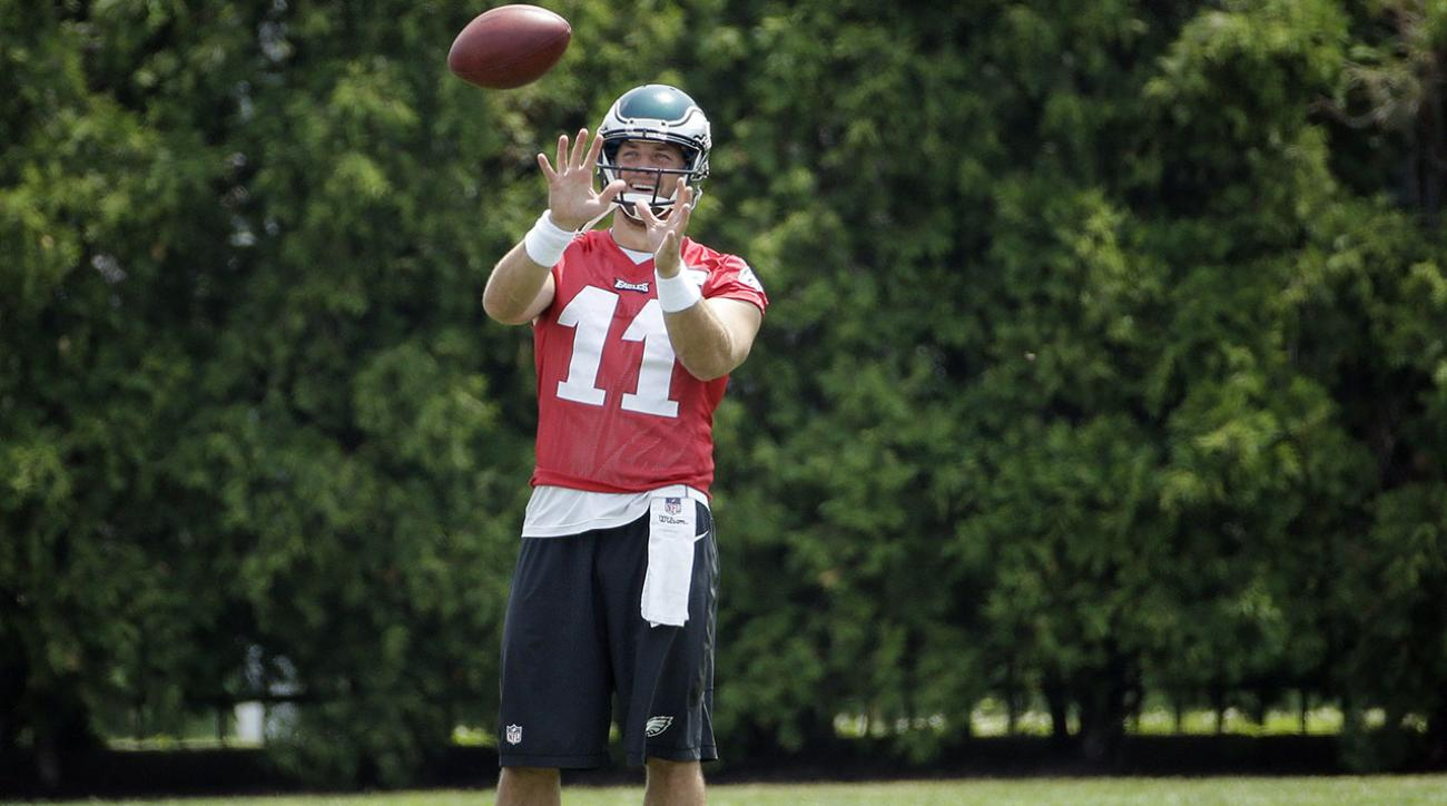 Chip Kelly talks Tim Tebow's status with the Eagles