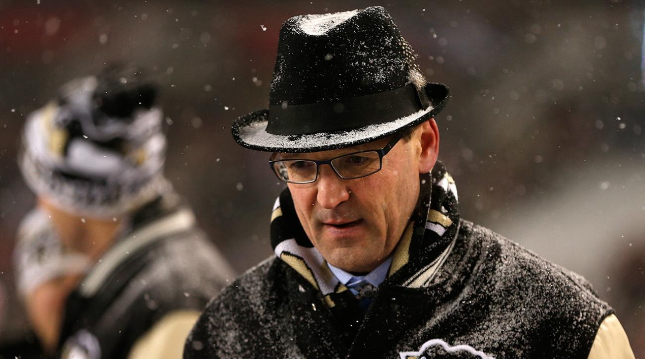 Sabres hire former Penguins coach Dan Bylsma