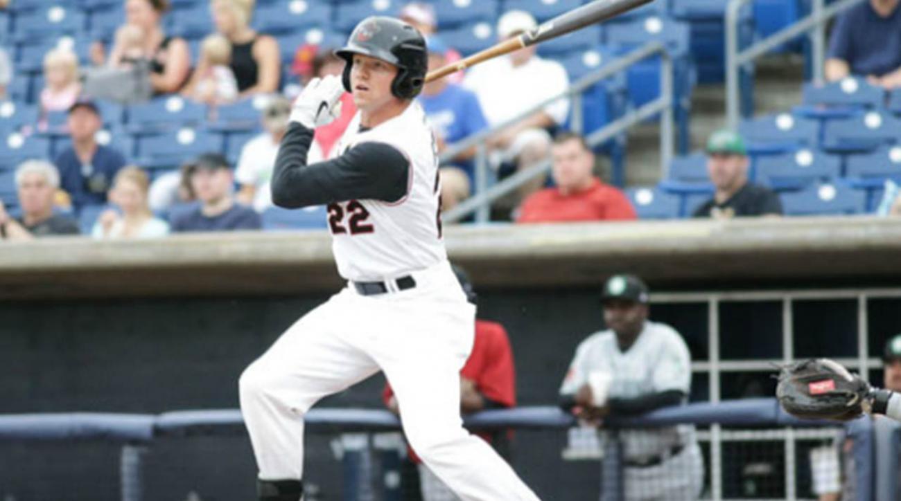 Astros prospect Derek Fisher has 12 RBIs in High Class A debut