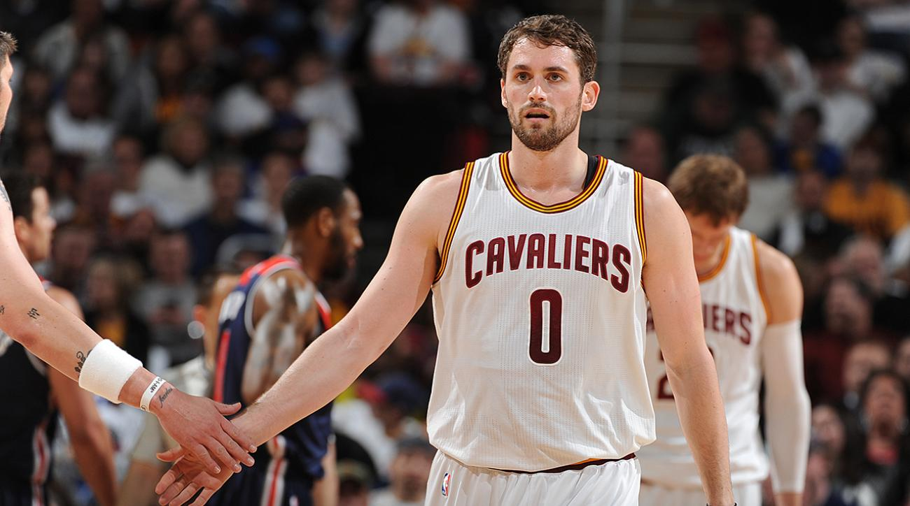 Kevin Love expects to play with Cavaliers next season