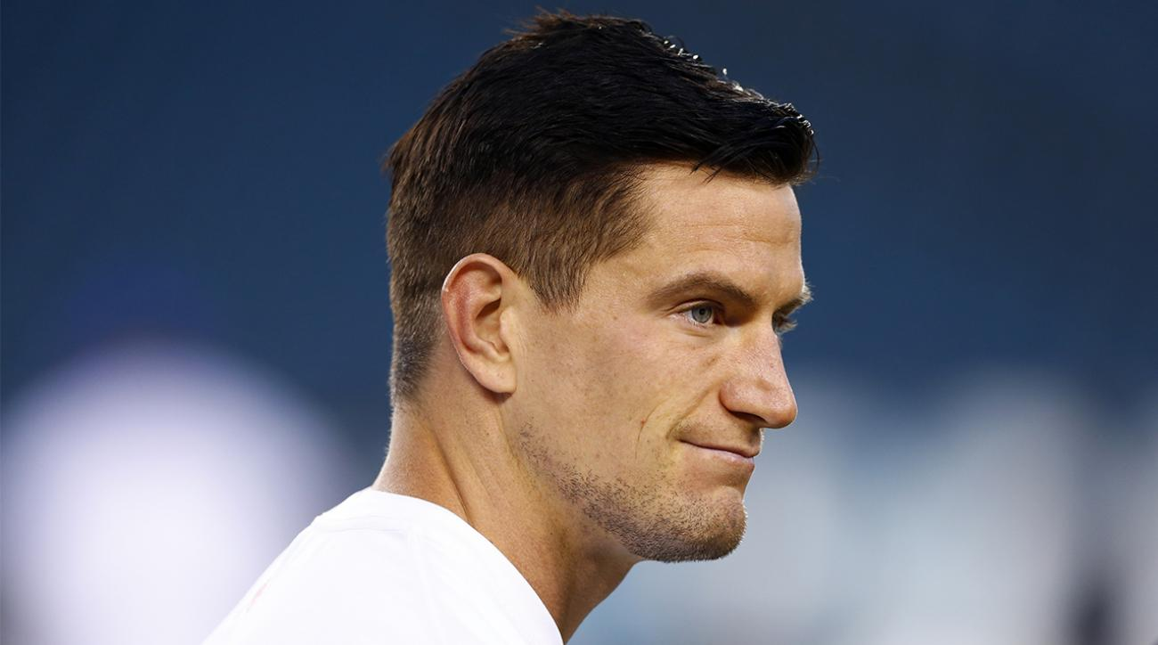 New York Giants punter Steve Weatherford uninjured after car accident