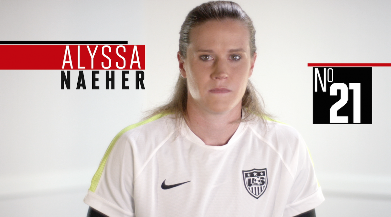 alyssa naeher, soccer, women's world cup, fifa, 2015 FIFA Women's World Cup, sepp blatter, abby wambach, Alex Morgan