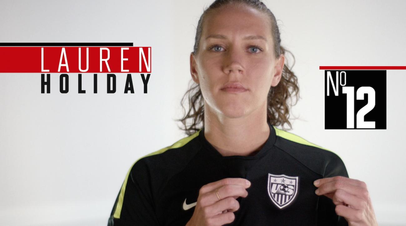 lauren holiday, soccer, women's world cup, fifa, 2015 FIFA Women's World Cup, sepp blatter, abby wambach, Alex Morgan