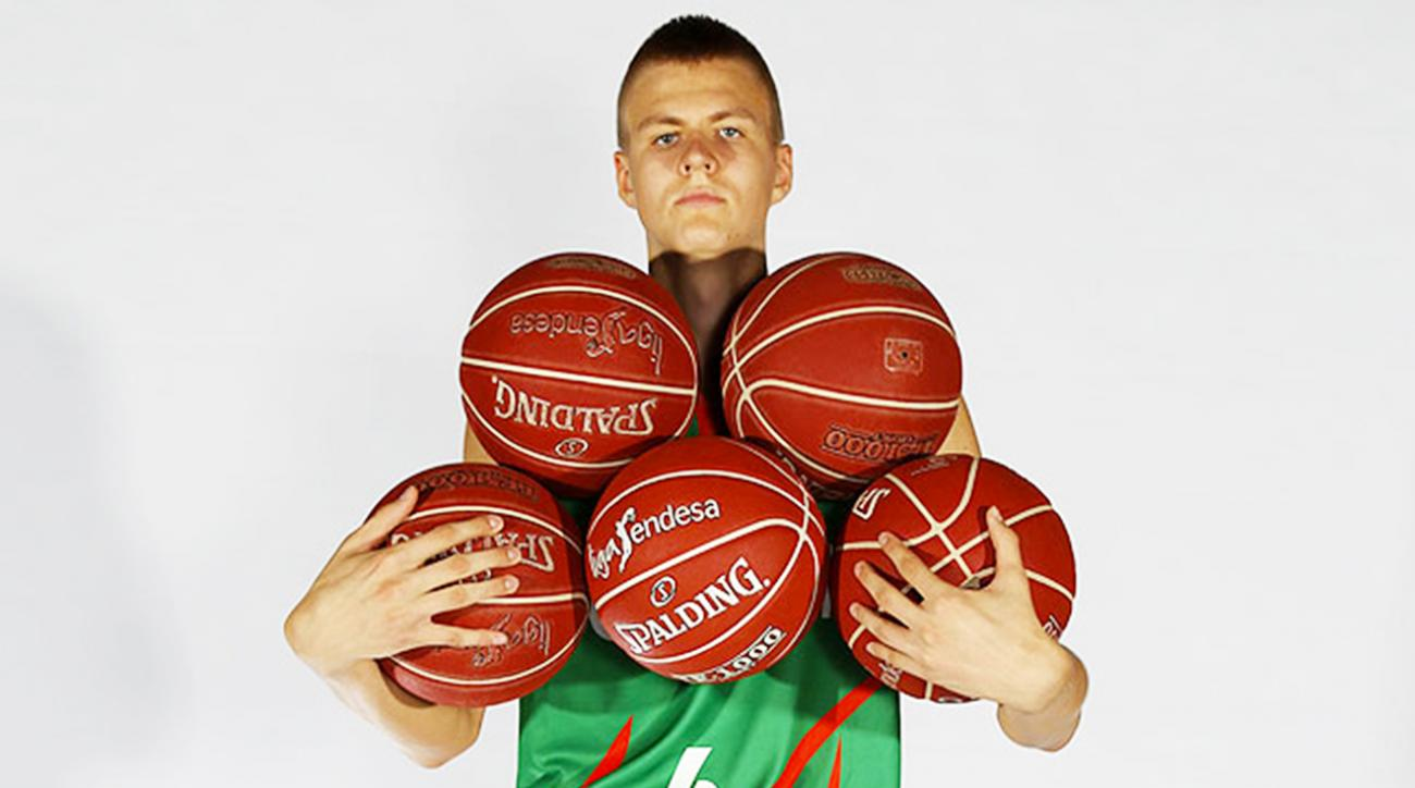 Porzingis latvia new york knicks draft