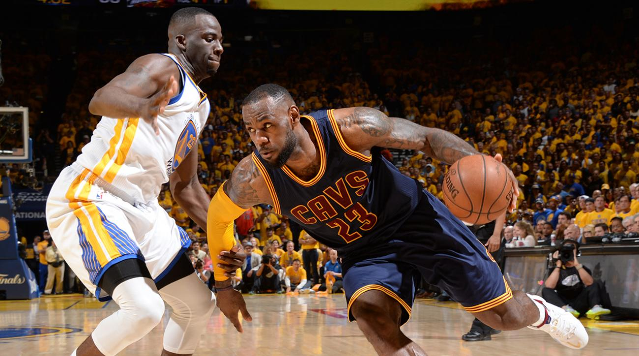 Warriors defeat Cavaliers in OT to go up 1-0 in NBA Finals