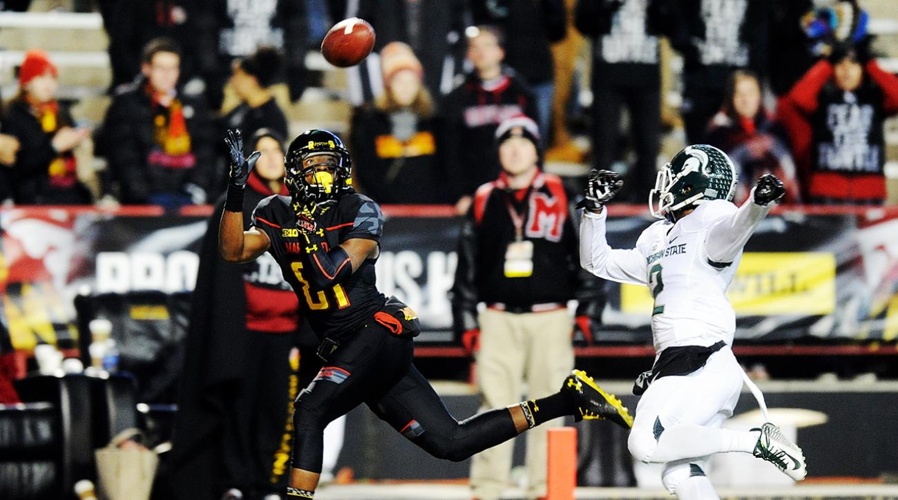 Maryland's Juwann Winfree suspended indefinitely
