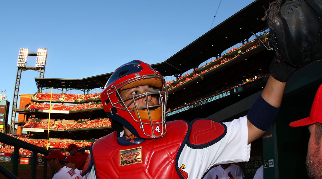 Cardinals' Yadier Molina passes Giants' Buster Posey in latest NL All-Star voting update IMAGE
