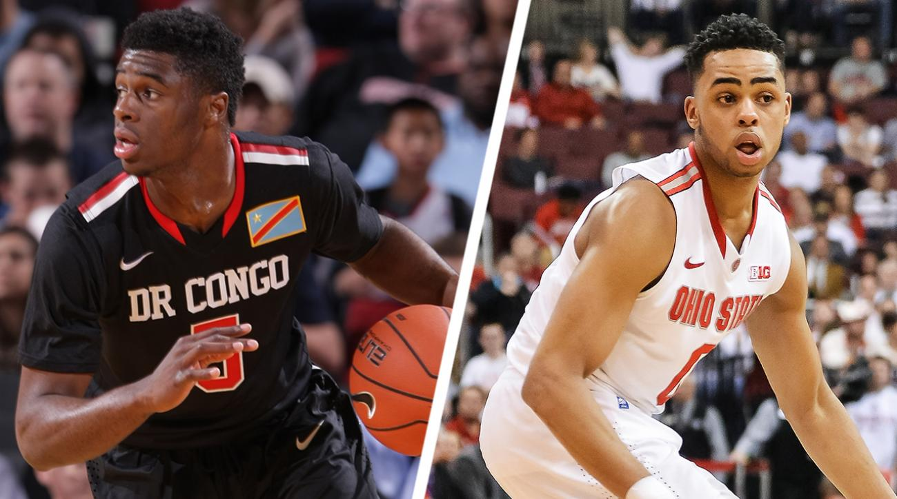 2015 NBA Draft: D'Angelo Russell or Emmanuel Mudiay? IMG