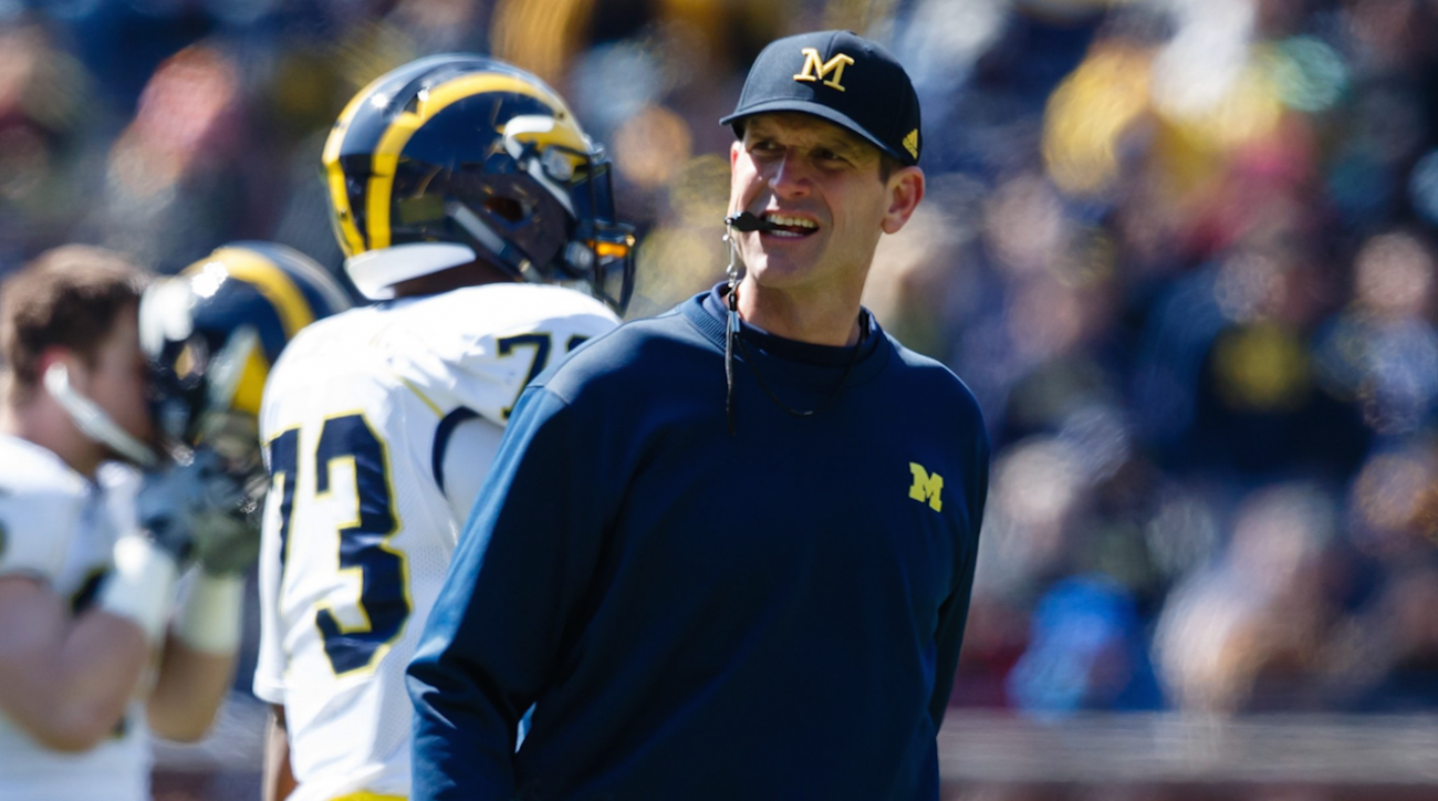 andy staples, College football, jim harbaugh, michigan wolverines, sports illustrated
