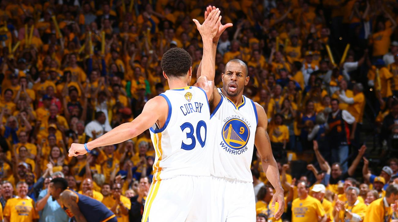 Warriors defeat Cavaliers, one win from NBA title IMG