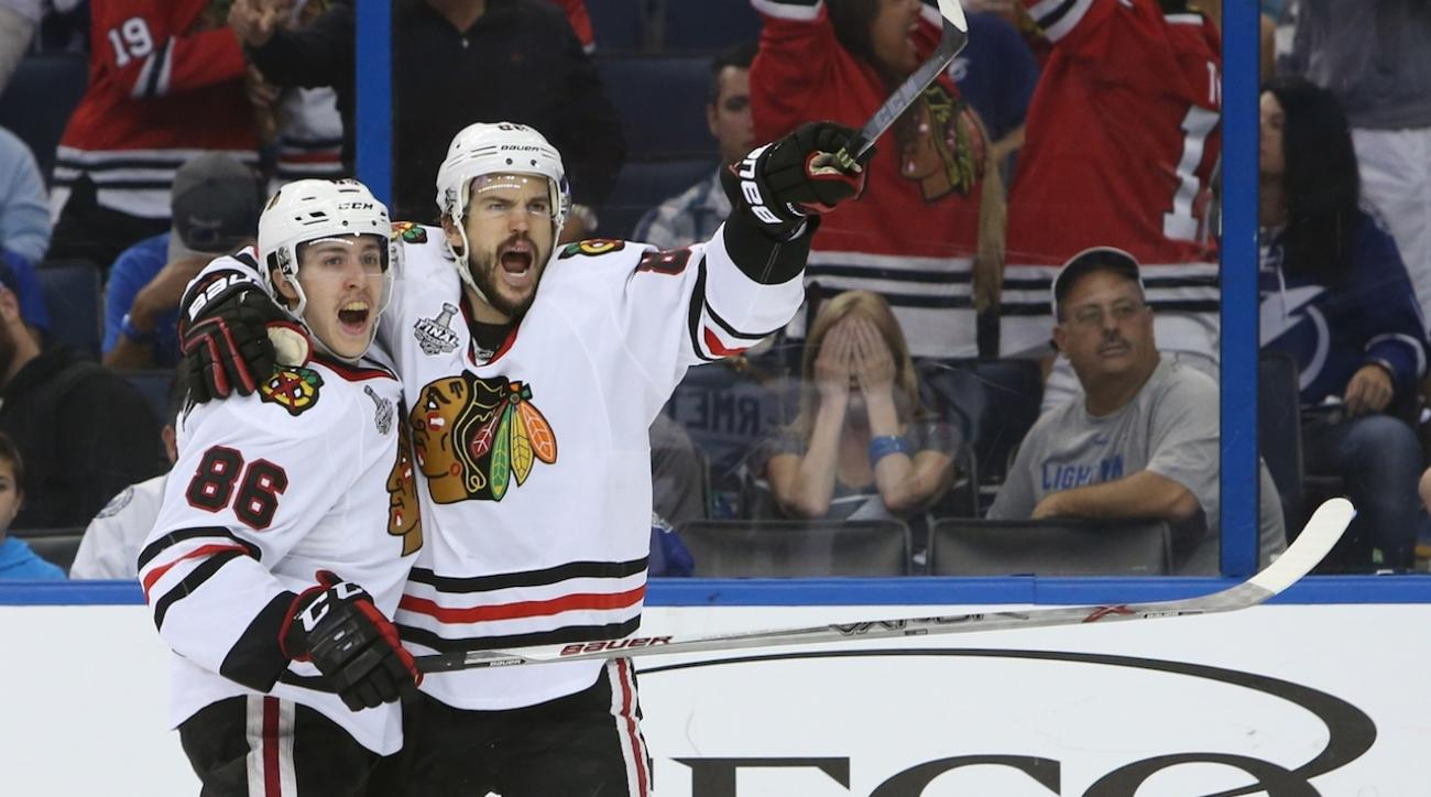 Chicago Blackhawks, hockey, nhl, sports illustrated, Stanley Cup Finals, Tampa Bay Lightning