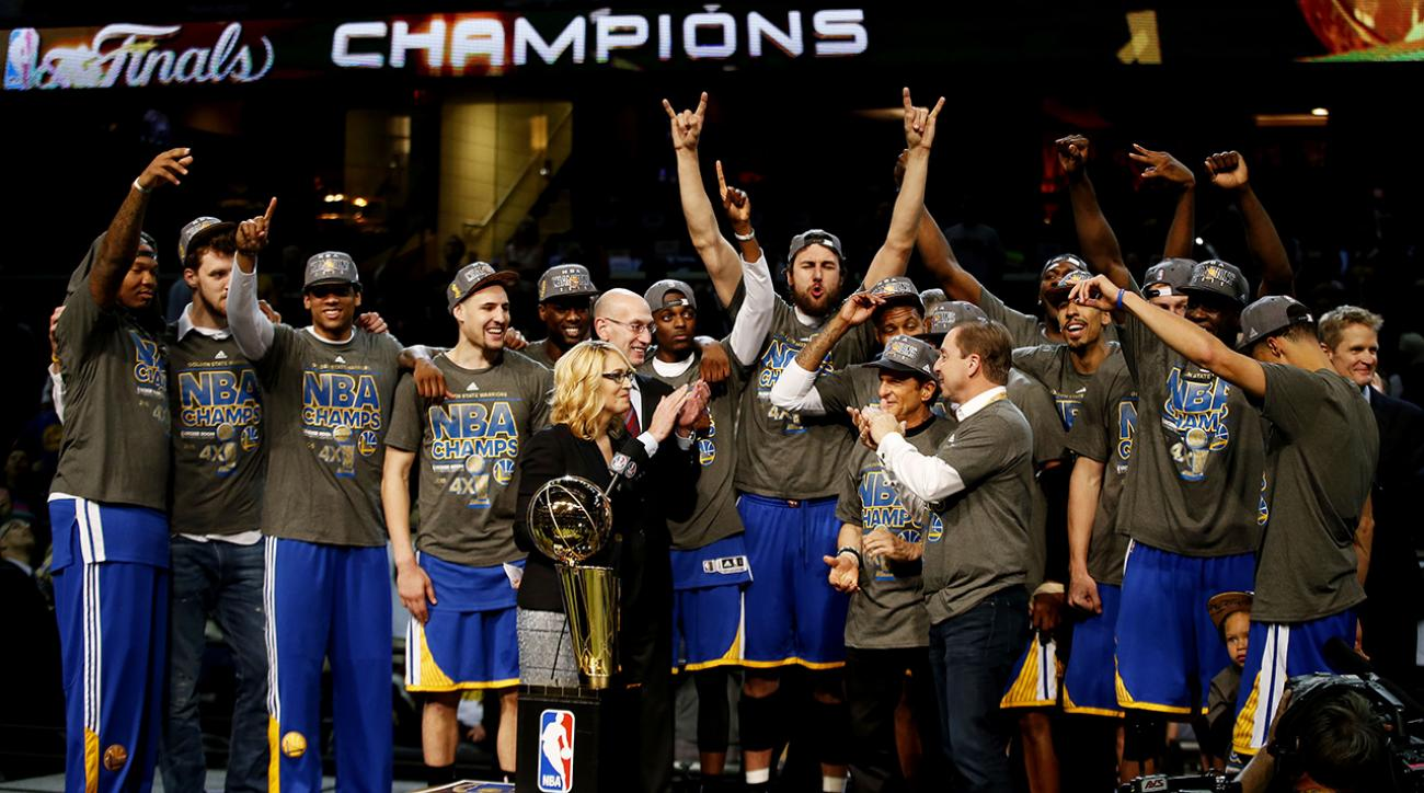 Warriors defeat Cavaliers to win 2015 NBA championship IMG