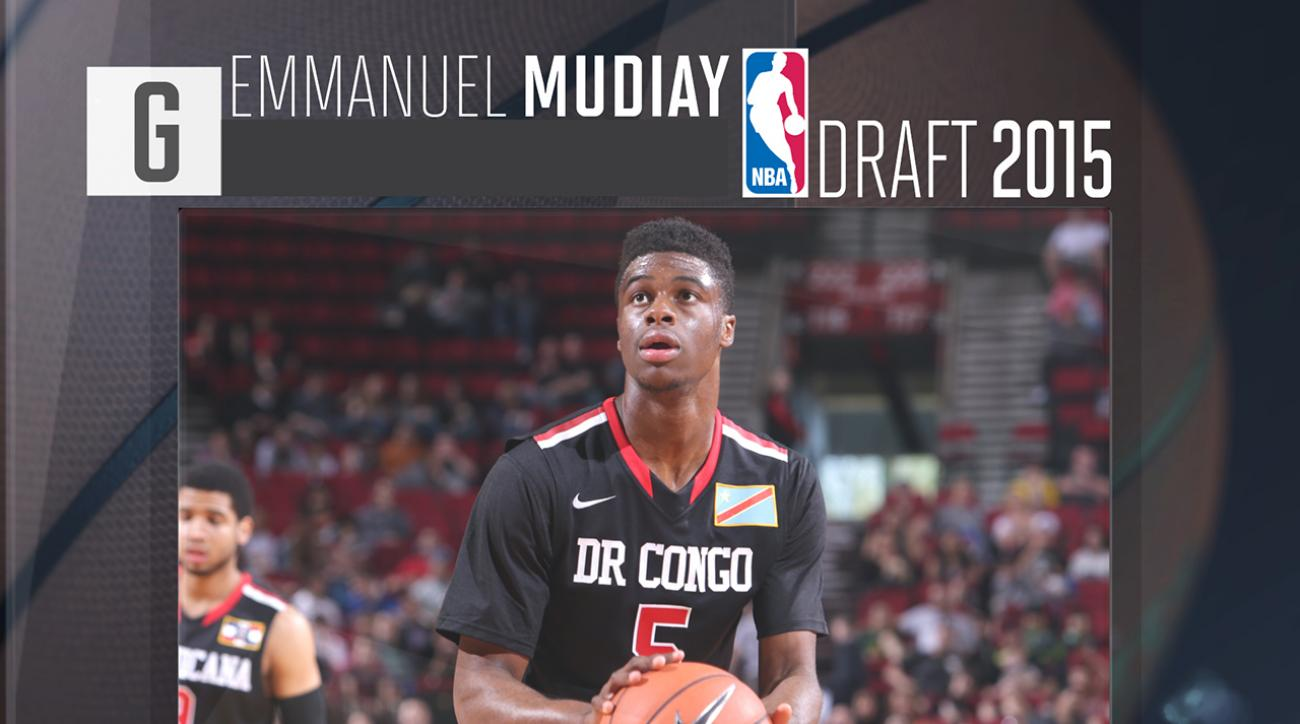 2015 NBA draft: Emmanuel Mudiay profile IMG