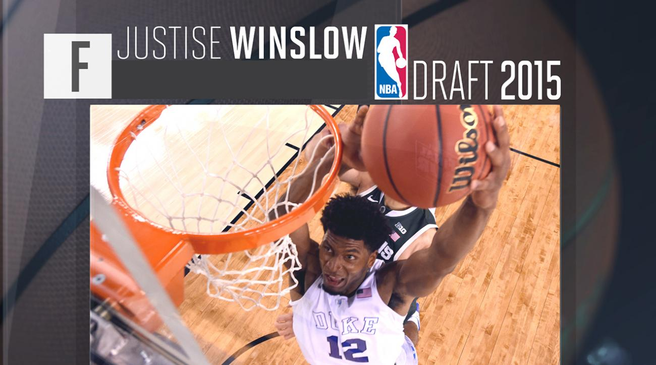 2015 NBA draft: Justise Winslow profile IMG