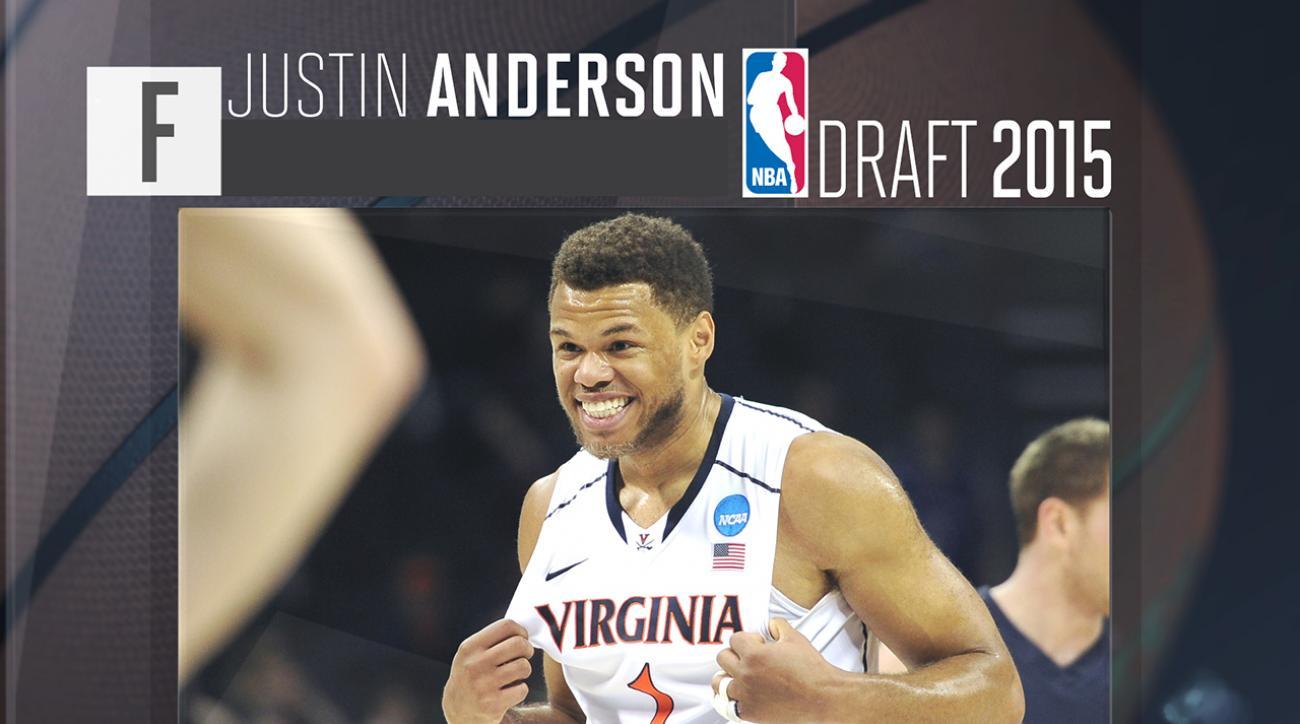 2015 NBA draft: Justin Anderson profile IMG