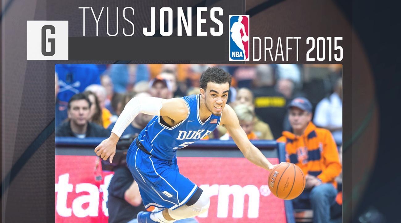 2015 NBA draft: Tyus Jones profile IMG