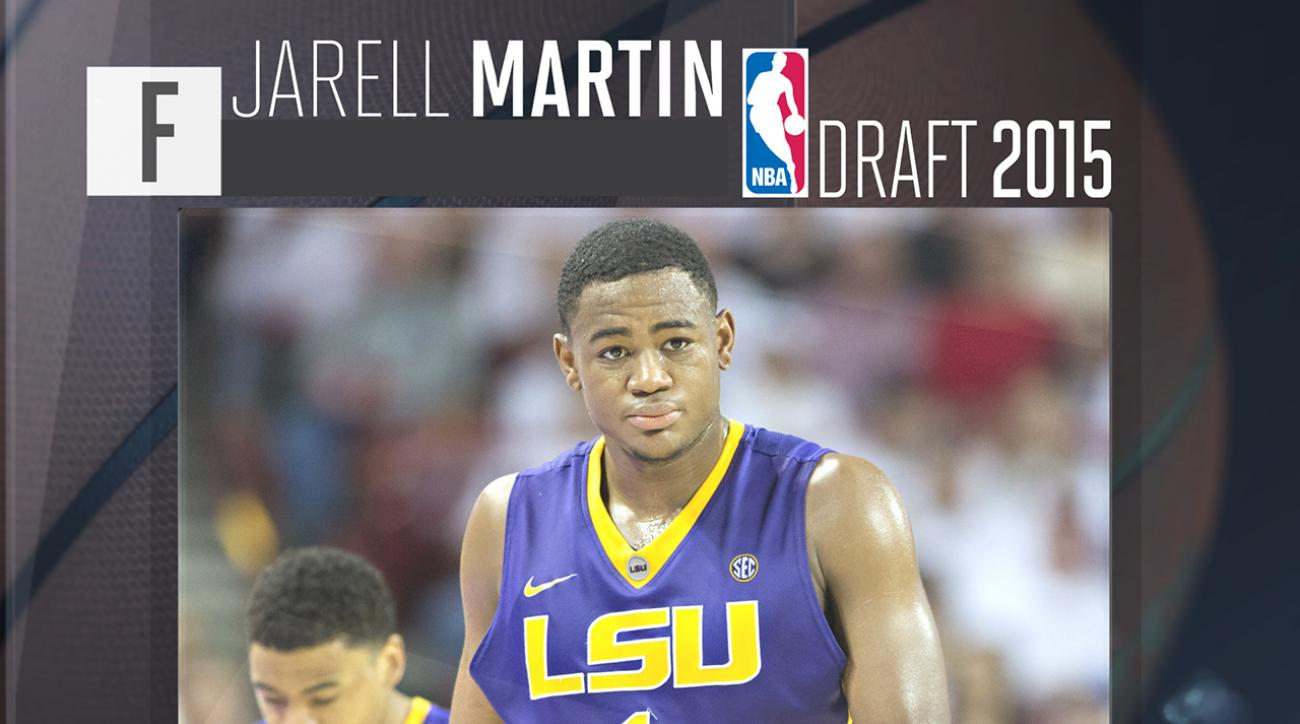 2015 NBA draft: Jarell Martin profile IMG
