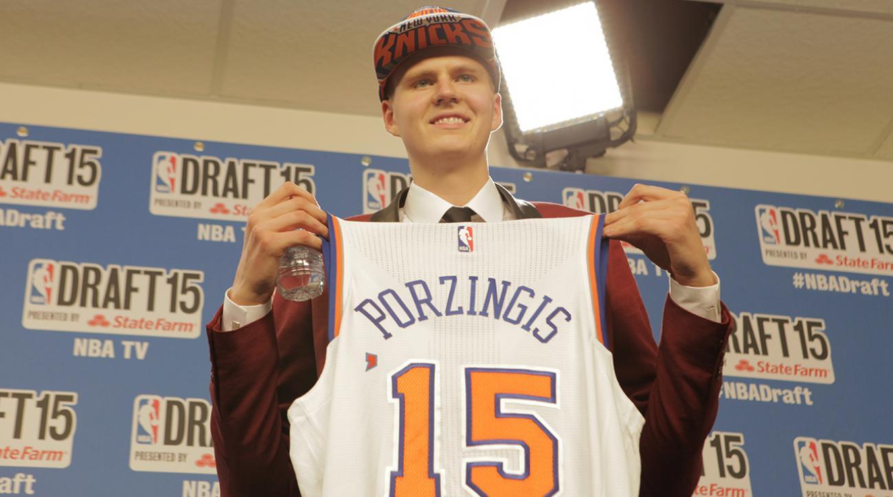 New York Knicks fans react to drafting Kristaps Porzingis