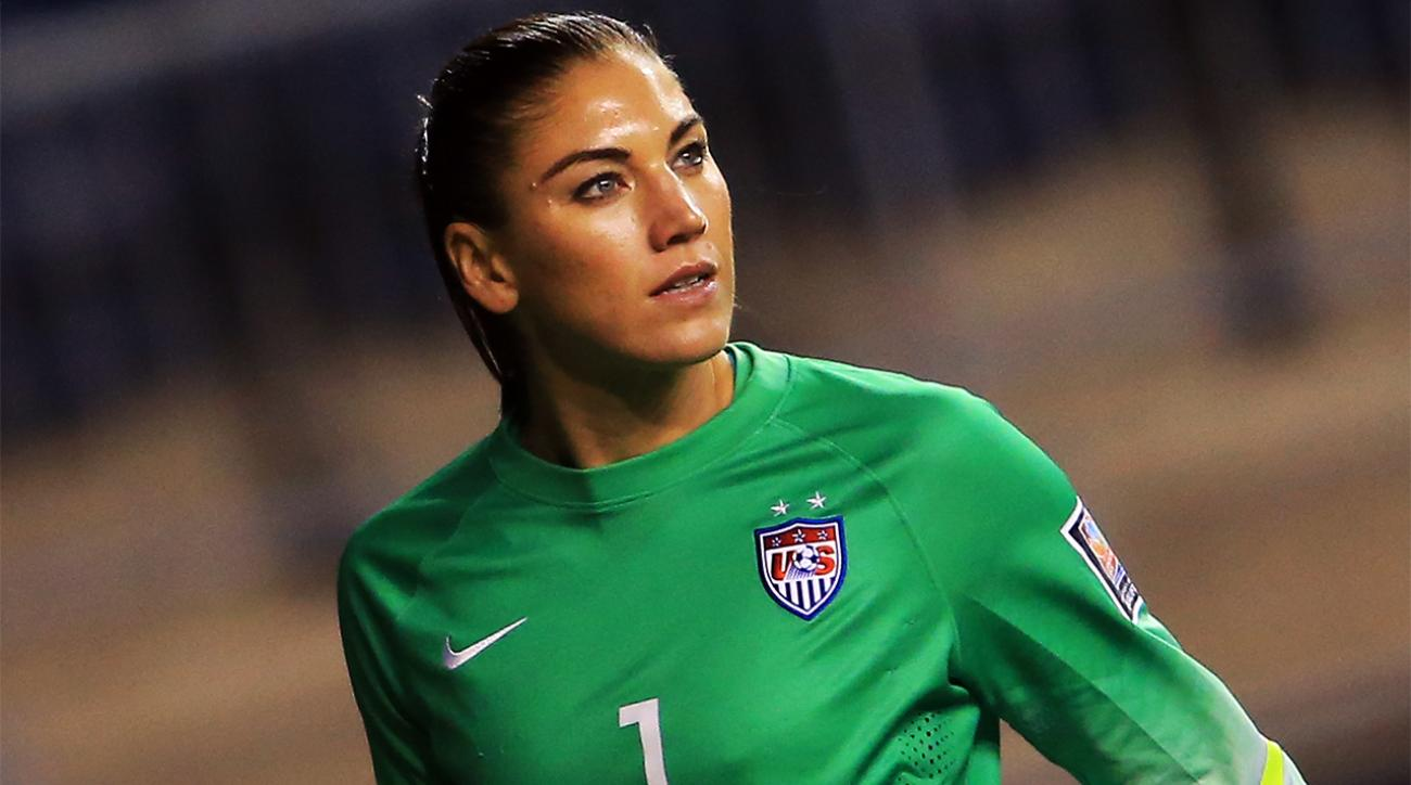 Hope Solo trained with U.S. Soccer coaches during 30-day suspension