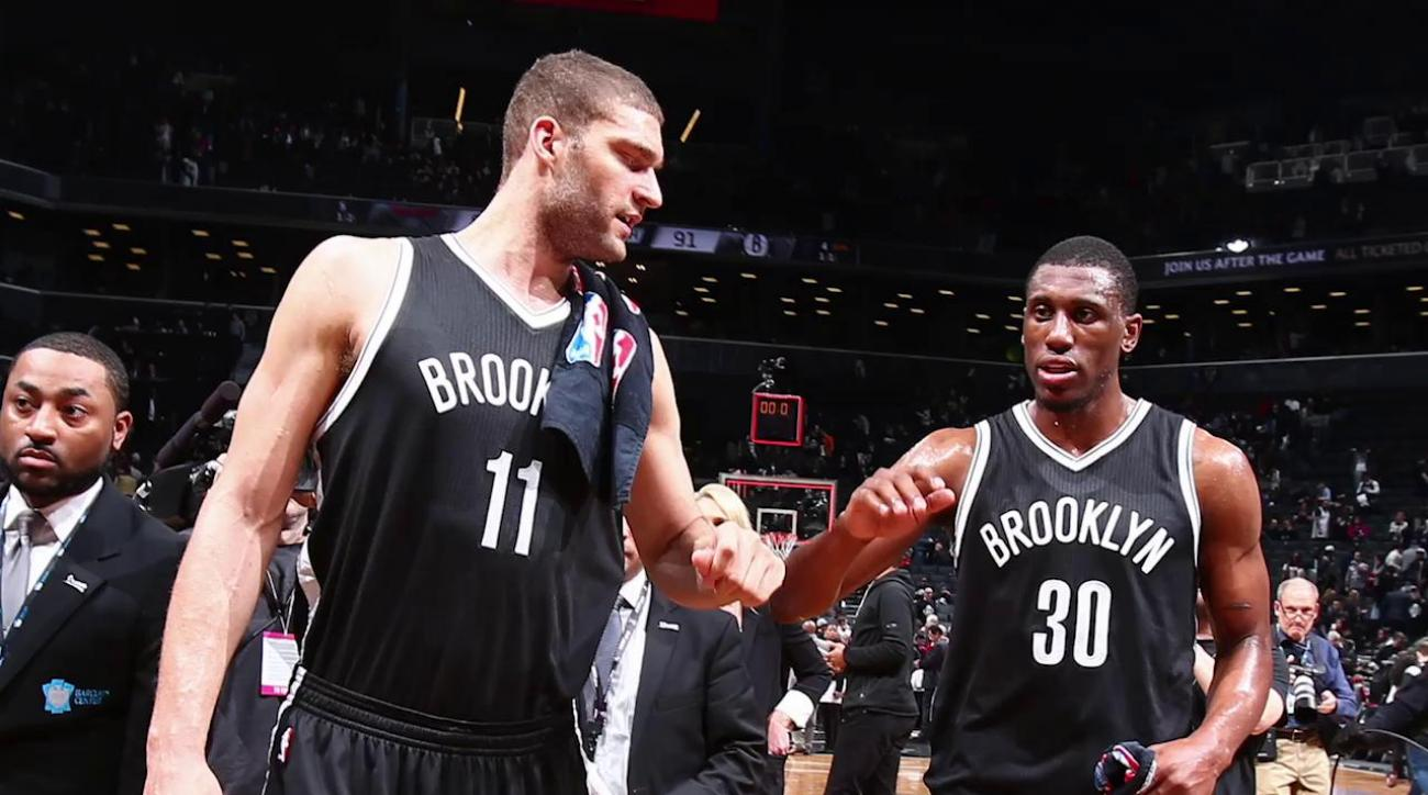 Nets re-sign Brook Lopez, Thaddeus Young