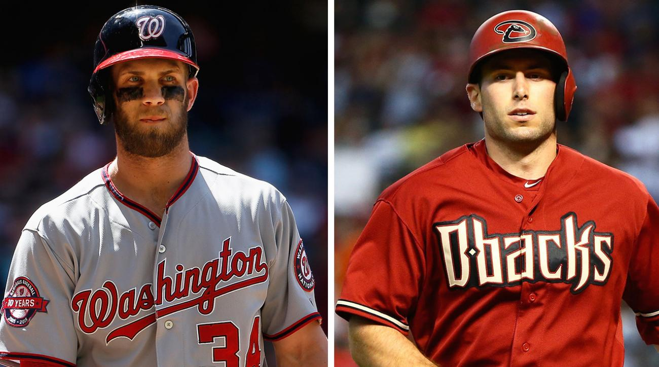bryce harper, paul goldschmidt, NL Triple Crown, Arizona Diamondbacks, Paul Goldschmidt Arizona Diamondbacks, washington nationals, bryce harper washington nationals