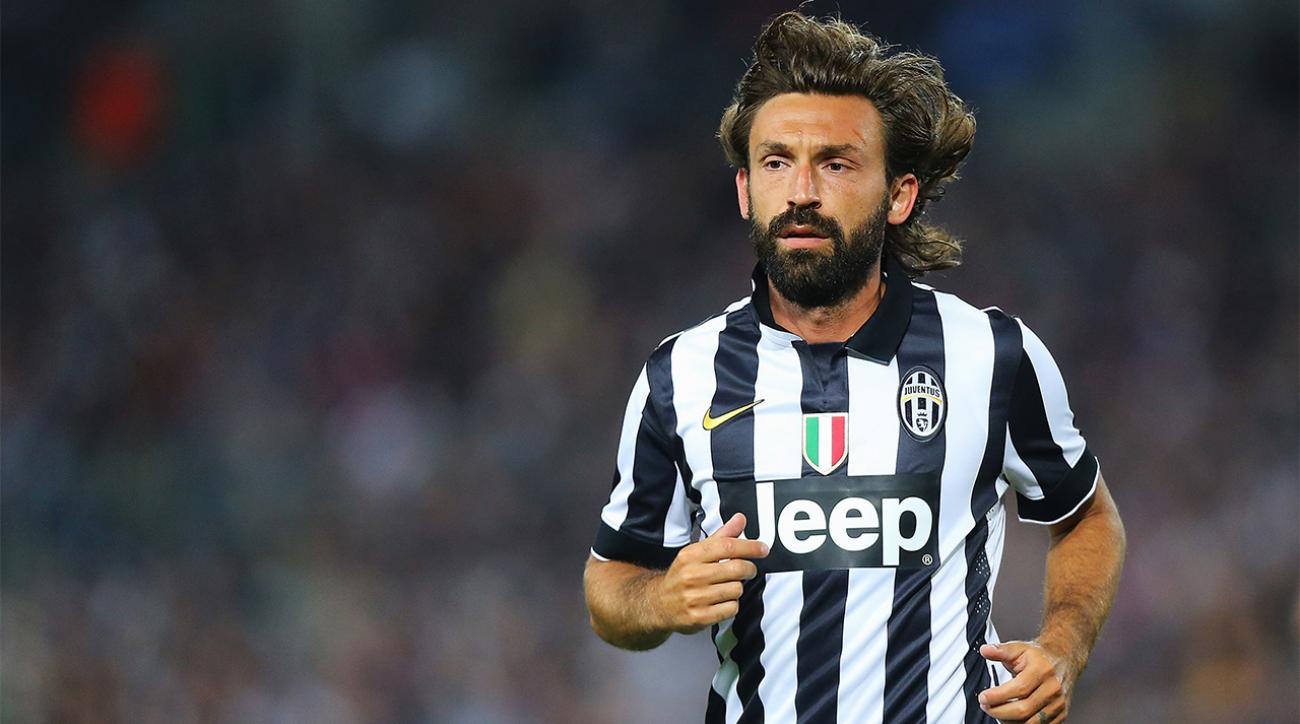 Andrea Pirlo to NYCFC Italian legend signs with MLS club