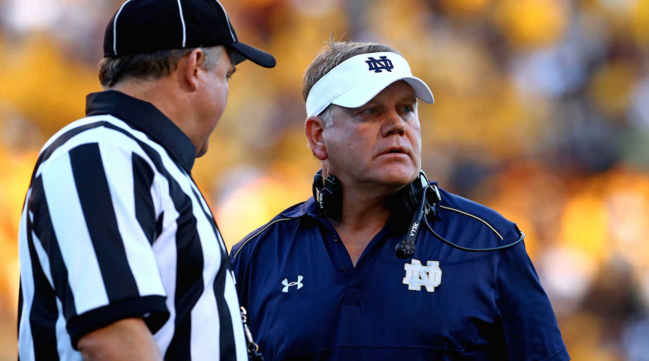 andy staples, College football, Dear Andy, michigan wolverines, Notre Dame Fighting Irish, sports illustrated