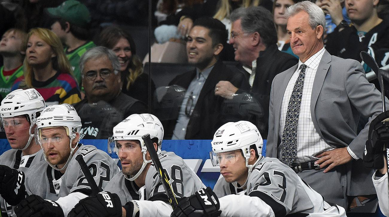 la kings, nhl, LA Kings NHL, darryl sutter, coach Darryl Sutter, Dustin Brown Captain, captain Dustin Brown LA Kings